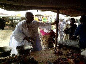 marché viande Médina